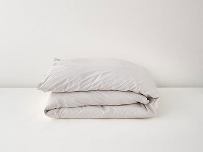 tuft and needle percale duvet cover