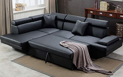 fdw sectional sofa bed