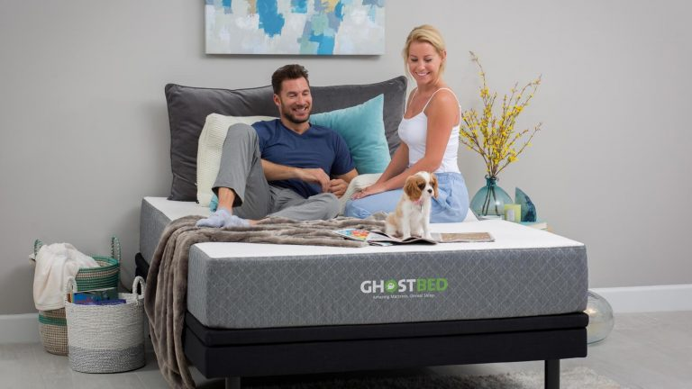 the ghostbed mattress lifestyle 2